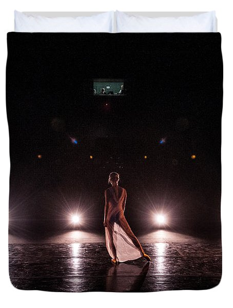 Solo Dance Performance Duvet Cover by Scott Sawyer