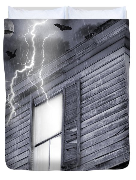 Something Wicked Duvet Cover by Brian Wallace