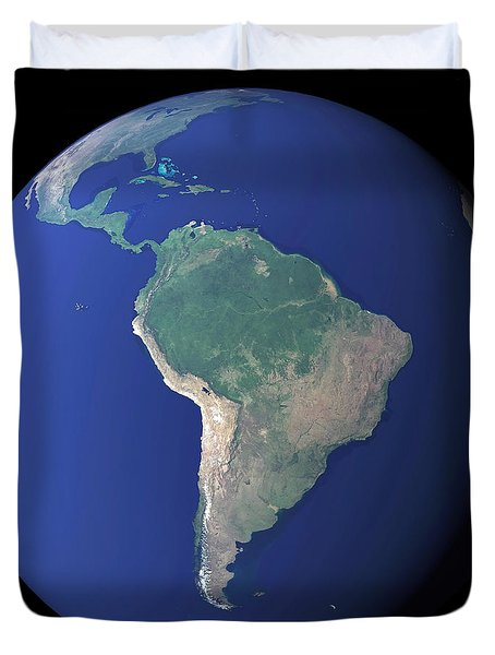 South America Duvet Cover by Stocktrek Images