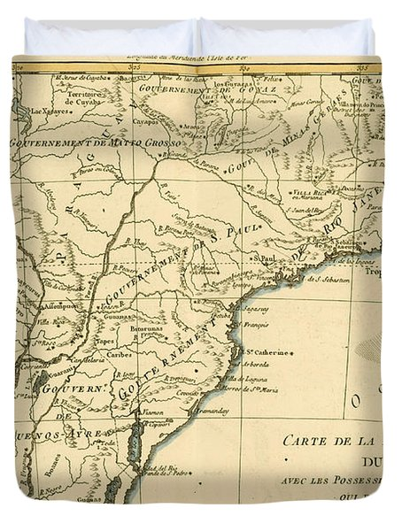 Southern Brazil Duvet Cover by Guillaume Raynal