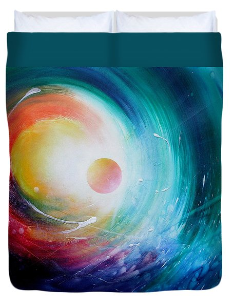 Sphere F31 Duvet Cover by Drazen Pavlovic