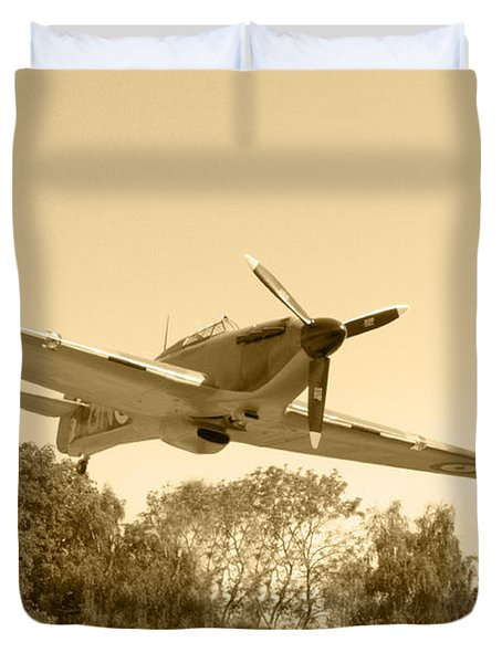 Spitfire Duvet Cover by Chris Day
