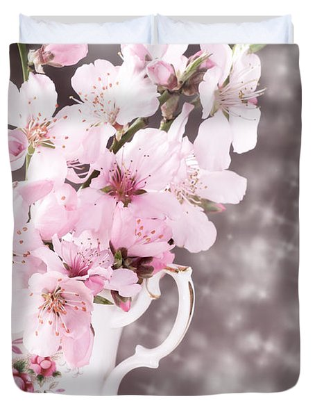 Spring Blossom Duvet Cover by Amanda And Christopher Elwell