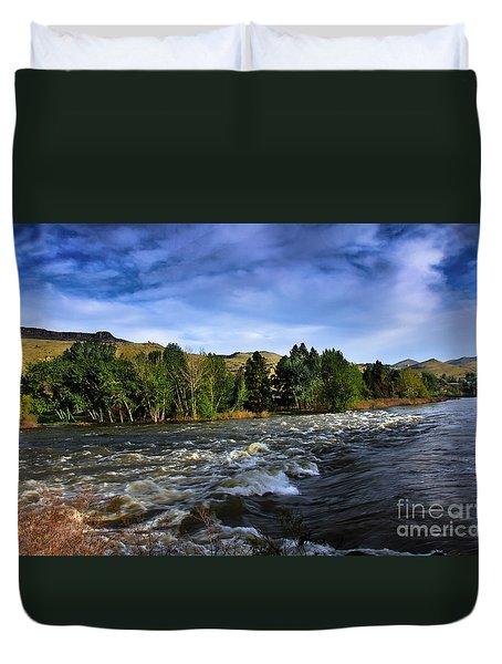 Spring Flow Duvet Cover by Robert Bales