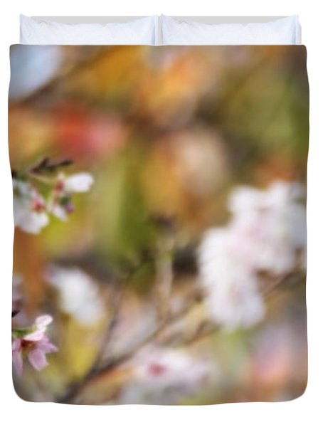 Spring In Autumn Duvet Cover by Eena Bo