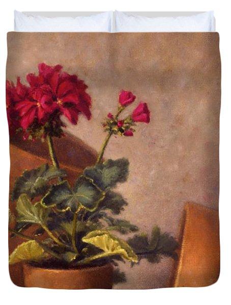 Spring Planting Duvet Cover by Rick Hansen