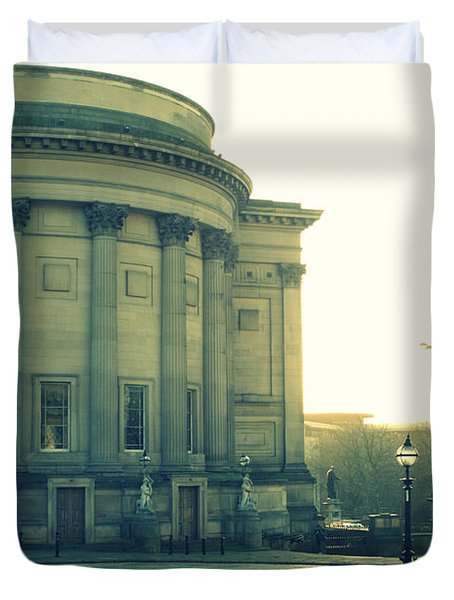 St Georges Hall Liverpool Duvet Cover by Nomad Art And  Design