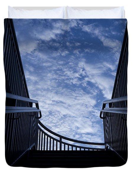Stairway to Heaven Duvet Cover by Joel Witmeyer