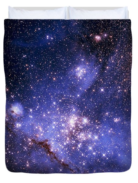 Stars And The Milky Way Duvet Cover by Don Hammond