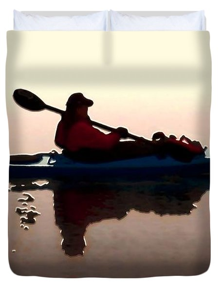 Still Waters Duvet Cover by Dale   Ford