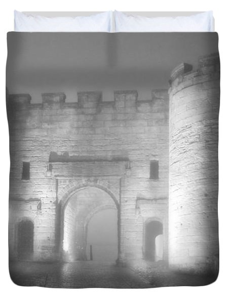 Stirling Scotland - Now That's A Castle Duvet Cover by Christine Till