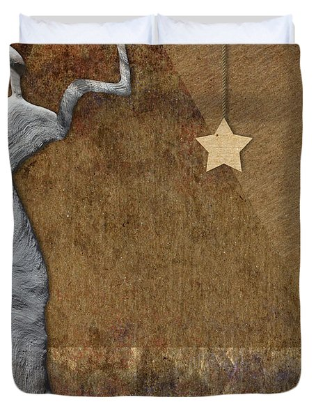 Stone Men 30-33 - Les Femmes Duvet Cover by Variance Collections