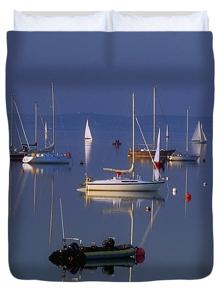 Strangford Lough, Co Down, Ireland Duvet Cover by SICI