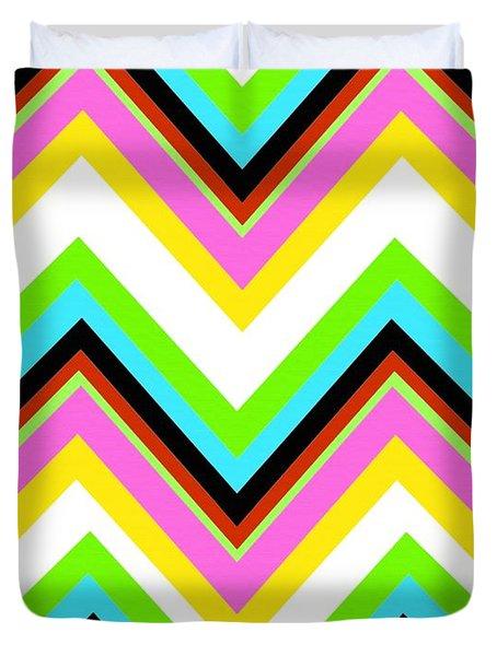 Stripe Duvet Cover by Louisa Knight