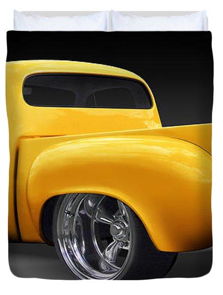 Studebaker Truck Duvet Cover by Mike McGlothlen