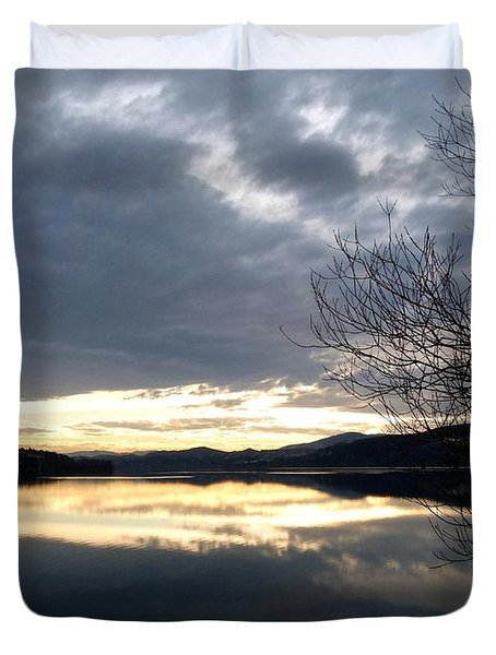 Stunning Tranquility Duvet Cover by Will Borden