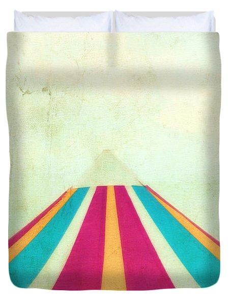 Summer Fun II Duvet Cover by Darren Fisher