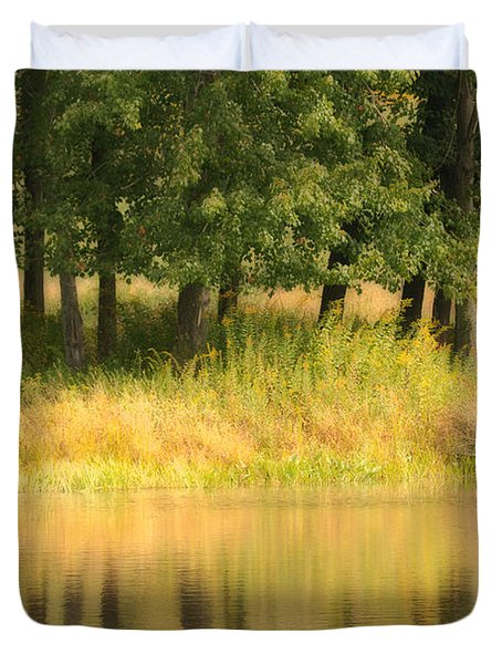 Summer Reflections Duvet Cover by Karol Livote