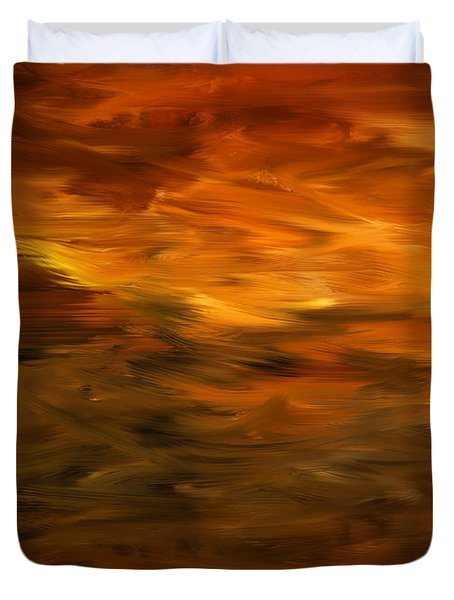Summer's Hymns Duvet Cover by Lourry Legarde