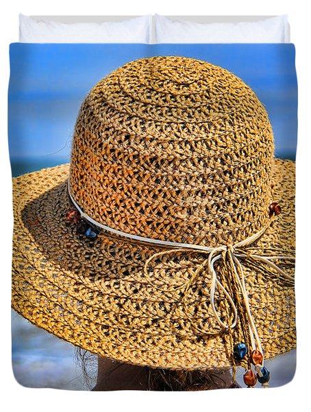 Summertime Duvet Cover by Mariola Bitner