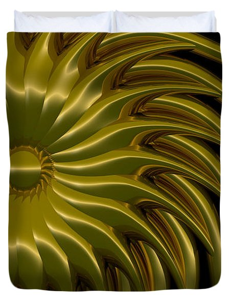 Sunflower Duvet Cover by Richard Rizzo