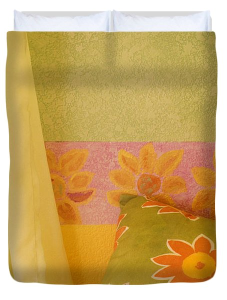 Sunny Morning Duvet Cover by Jerry McElroy