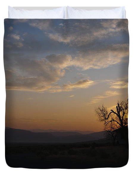 Sunrise Over Sand Pass Duvet Cover by Kurt Golgart