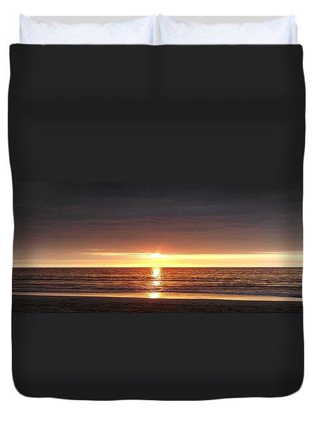 Sunset Duvet Cover by Gina De Gorna