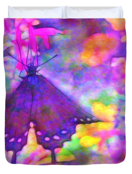 Swallowtail Duvet Cover by Judi Bagwell