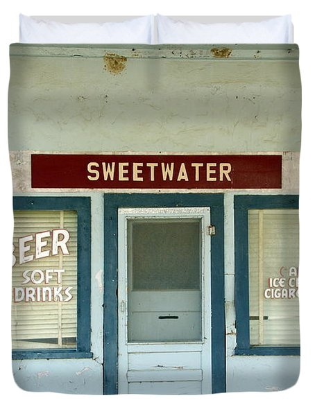 Sweetwater Store Duvet Cover by Jeff Lowe
