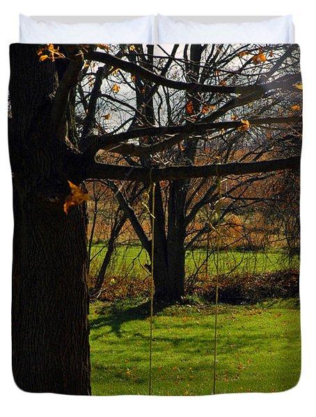 Swing With Me Duvet Cover by LeeAnn McLaneGoetz McLaneGoetzStudioLLCcom