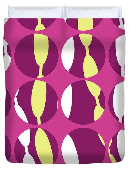 Swirly Stripe Duvet Cover by Louisa Knight