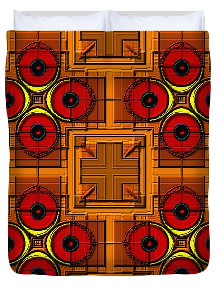 Symmetrica 188 Duvet Cover by Nedunseralathan R