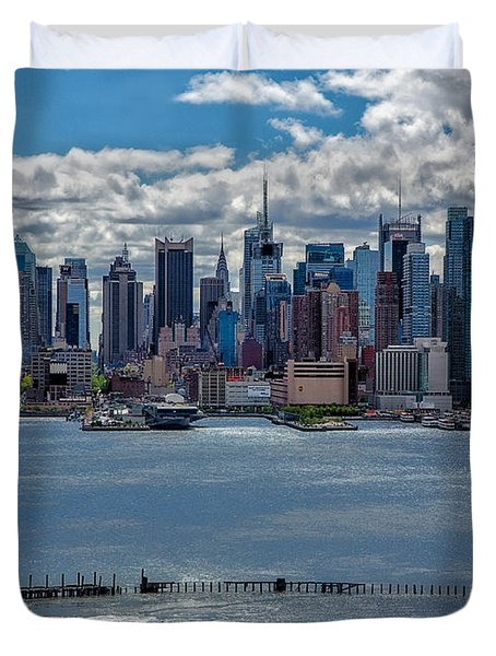 Taking a Free Ride Duvet Cover by Susan Candelario