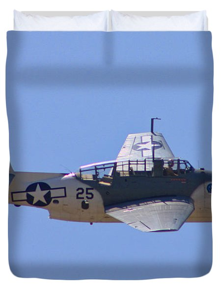 TBD Avenger Duvet Cover by Tommy Anderson