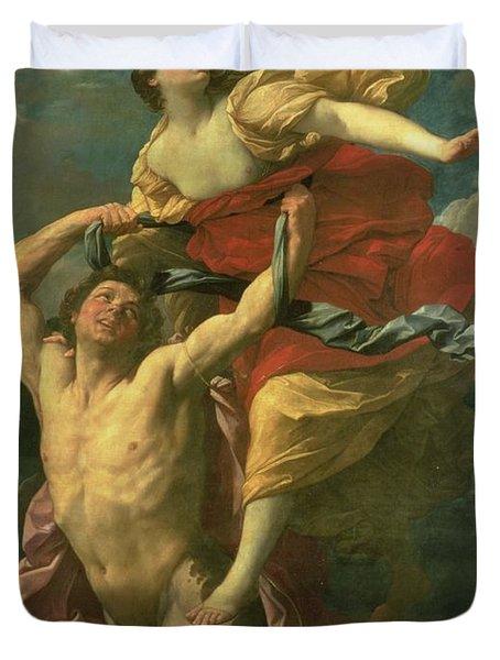 The Abduction Of Deianeira Duvet Cover by  Centaur Nessus