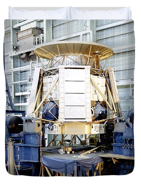 The Apollo Telescope Mount Undergoing Duvet Cover by Stocktrek Images