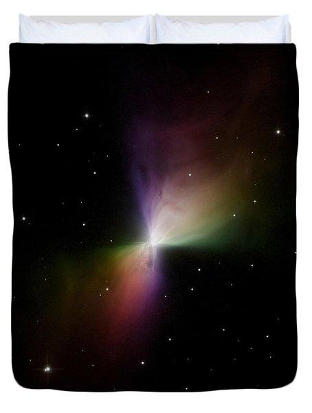 The Boomerang Nebula Duvet Cover by Stocktrek Images