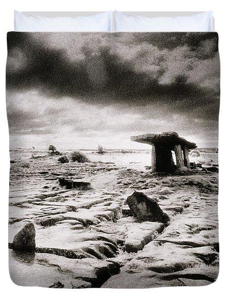The Burren Duvet Cover by Simon Marsden