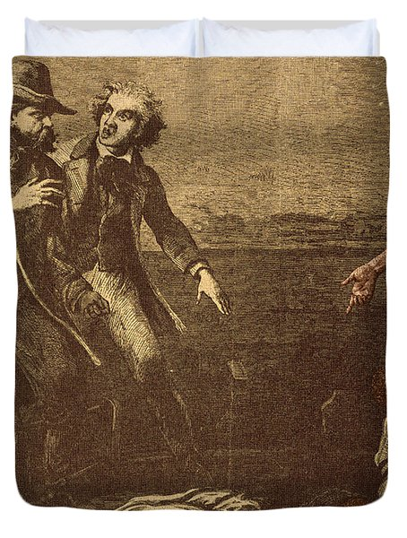 The Capture Of Margaret Garner Duvet Cover by Photo Researchers