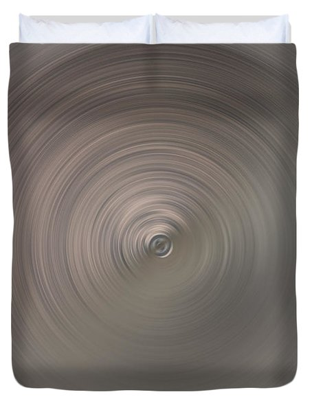 The Center Of Tornado Duvet Cover by Ausra Huntington nee Paulauskaite