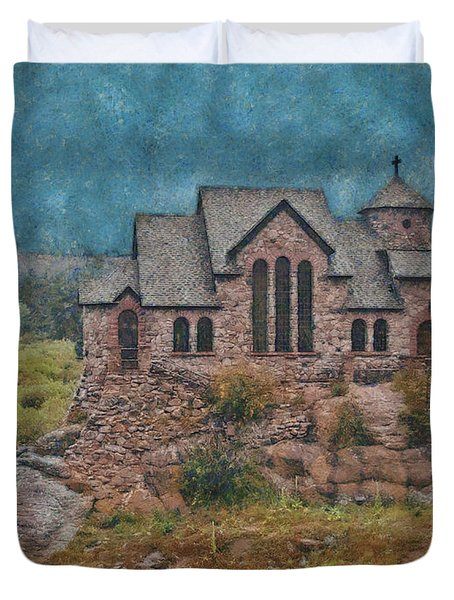 The Chapel Duvet Cover by Ernie Echols