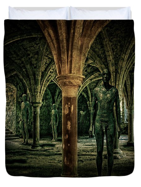 The Crypt Duvet Cover by Chris Lord