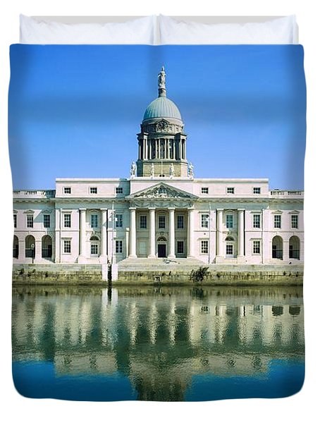 The Custom House, River Liffey, Dublin Duvet Cover by The Irish Image Collection