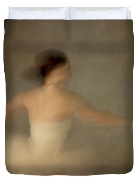 The Dance Duvet Cover by Margie Hurwich