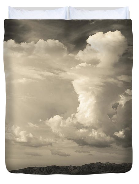 The Drama Duvet Cover by Laurie Search