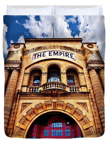 The Empire Theatre Duvet Cover by Meirion Matthias