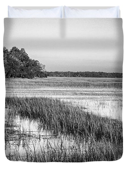The Flats Duvet Cover by Phill Doherty