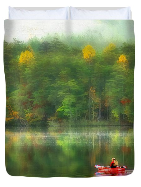 The Good Life Duvet Cover by Darren Fisher