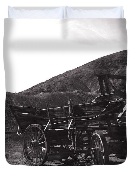 The Good Old Days Duvet Cover by Susanne Van Hulst